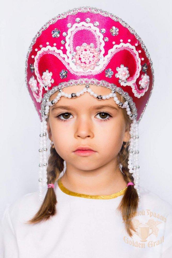 Русский народный костюм КОКОШНИКИ Кокошник Алина АЛИ-00-06-00, 11 см
