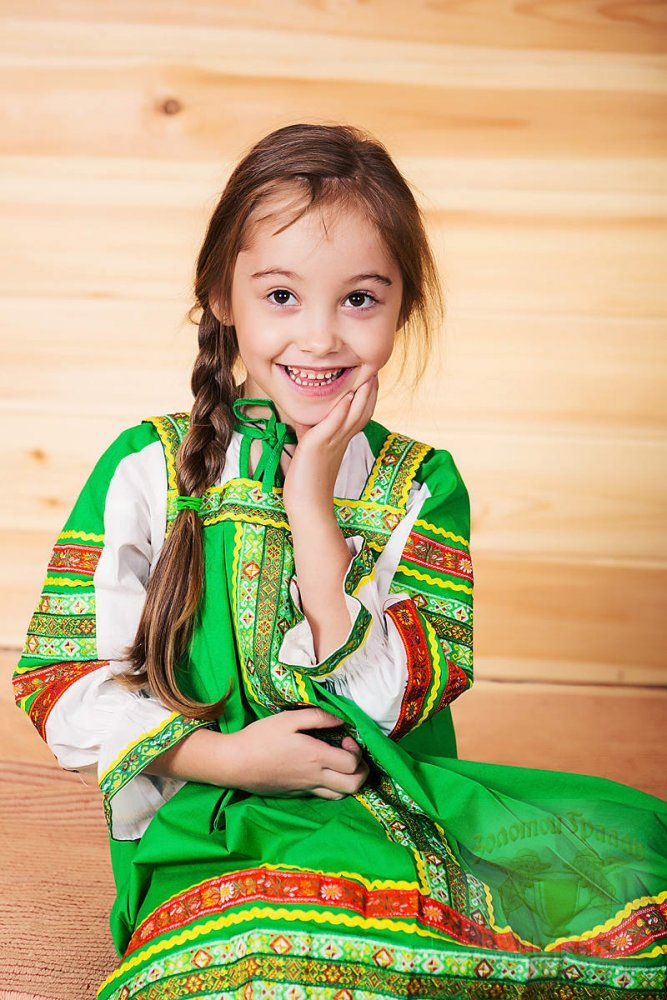 Русский народный костюм САРАФАНЫ Сарафан Дарья ДАР-00-08-00, рост 134-140