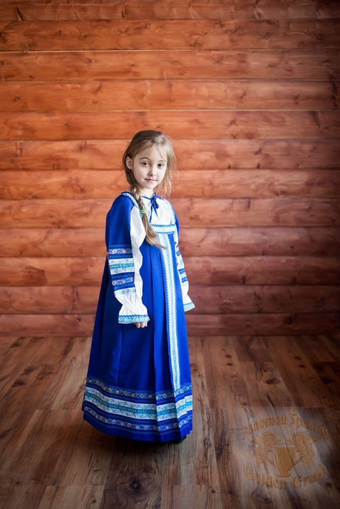 Русский народный костюм САРАФАНЫ Сарафан Дарья ДАР-00-02-00, рост 146-152