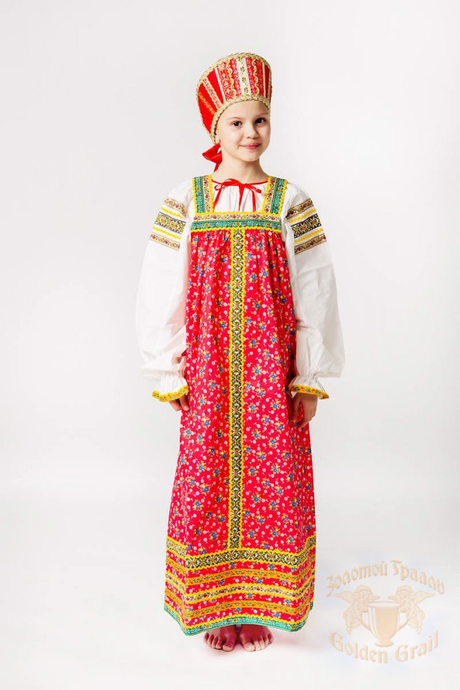 Русский народный костюм САРАФАНЫ Сарафан Наталья НАТ 00-01-00, рост 134-140
